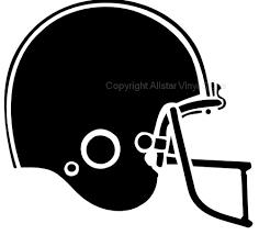 football helmet silhouette Google Search