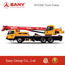 Sany Stc200 20 Tons Chinese Hydraulic Mini Mobile Truck Mounted ...
