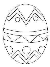 Easter Egg For Coloring Pages