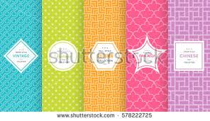 Cute Bright Seamless Pattern Background Vector Illustration Design Abstract Geometric Frame Stylish