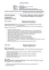 Resume English Technical Sales 0116 Marco Dotro Birth Date 06 May 1966 Home Address Via Edgardo Moltoni