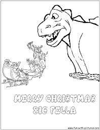 Godzilla Christmas Coloring Page