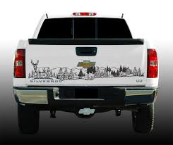 100 Hunting Decals For Trucks Wildlife Tailgate Graphic Deer Scene 60 X 12 Vinyl Decal EBay