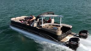 Pontoon Boat Sinks Nj premier 290 grand entertainer a wide beam pontoon boat boats com