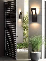 cool outdoor wall sconce lighting decoration and home security