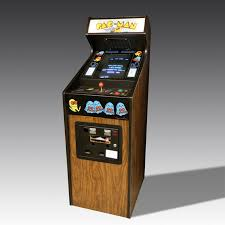 Original Pac Man Arcade Machine