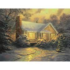 Thomas Kinkade Christmas Tree Uk by 100 Cottege Cottages Small House Bliss Frances Willard
