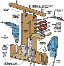 workbench power strip woodworking plans and information at