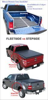 1997-2003 Ford F-150 6.5ft Short Bed Styleside Soft Tri-Fold Tonneau ...