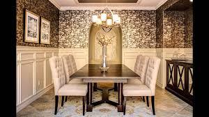 Elegant Wallpaper Designs For Dining Room Decorating Ideas