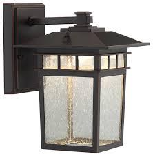 raiden 1 light outdoor wall light bronze craftsman