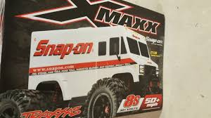 Snap On Traxxas Xmaxx Tool Truck. BRAND NEW SEALED In ORIGINAL BOX ...