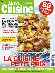 magazine de cuisine réabonnement magazine maxi cuisine abobauer com
