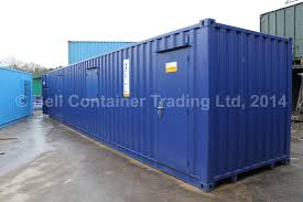 100 40 Ft Cargo Containers For Sale Bespoke Container Conversion Shower Unit WC Canteen And