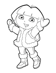 Coloring Pages Of Winter Clothes Coats