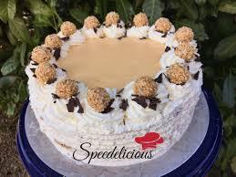 eierlikör torte mit piemonteser haselnüssen und giotto