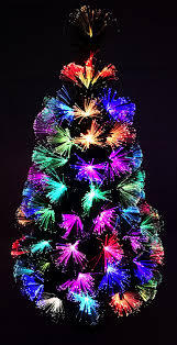 Small Fibre Optic Christmas Trees by Christmas Concepts 36 Inch 3ft Green Led Firework Fibre Optic