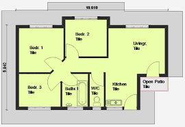 2 Bedroom Home Plans Colors 3 Bedroom House Floor Plans In South Africa Savae Org