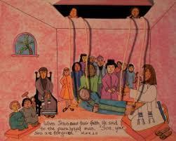 Jesus Heals Paralyzed Man Craft
