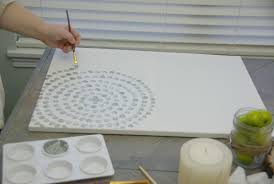 Grand Diy Large Wall Art Ideas Canvas In Painting With Kids