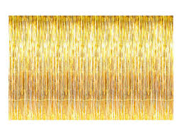 Foil Fringe Curtain Singapore by Metallic Gold Foil Fringe Curtains 12 Ft X 8 Ft Door Window
