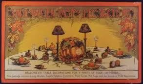 plete ANTIQUE 1920 S Vintage BEISTLE Halloween ENVELOPE w
