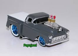 MUSCLE MACHINES 1955 Chevrolet Pickup 55 Chevy Hot Rod Truck Ol ...