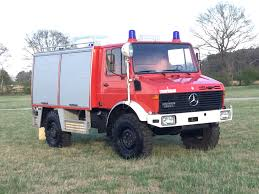100 Unimog Truck 1983 MercedesBenz 1300 Fire For Sale On BaT Auctions