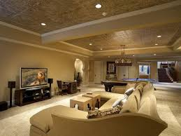 cheap and easy modern basement ceiling ideas finishing basement