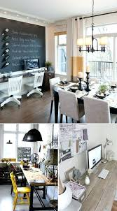 Dining Room Office Combination Good Home In Ideas Love To