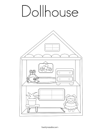 Loving Family Dollhouse Coloring Pages Alltoys For