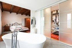 open plan bedroom bathroom ideas image of bathroom and closet