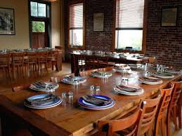 Upstairs At This Wood Fired Restaurant Located Inside Of An Historic 20th Century Italian Renaissance Styled Firehouse Is A Private Dining Room With