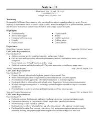 Call Center Agent Resume Examples Skills Templates Trainer Sample For Customer Service Supervisor Example
