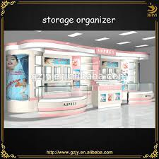 2017 Hot Sale Cosmetic Shop Furniture And Mall Kiosk Ideas Cosmetics Decoration