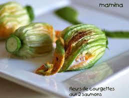 cuisiner fleur de courgette fleurs de courgettes aux deux saumons les meilleures recettes de