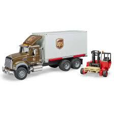 100 Ups Truck Toy Bruder S Pretend Play MACK Granite UPS Logistics W