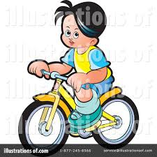 Illustration By Lal Perera Royaltyfree Rf Boy Clipart Bicycle