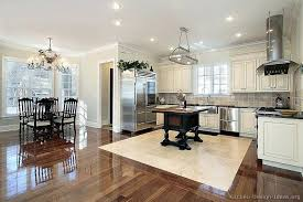 White Kitchen Cabinets With Hardwood Floors Dark Impressive Design Lighting Or Other