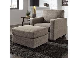 Ashley Furniture Hearne Contemporary Chair & Ottoman Furniture