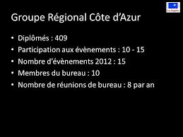8 bureau des diplomes groupe régional côte d azur assemblée régionale février ppt