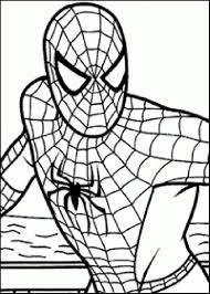 Spiderman Free Coloring Pages Large Images Kids Pinterest