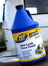 zep floor finish on boat using zep to restore oxidized fiberglass page 2 fiberglass rv