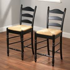 Tall Ladder Back Chairs With Rush Seats by Amazon Com Target Marketing Systems 24 Inch Set Of 2 Ladder Back