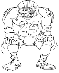 Football Colouring Pages For Kids Uk