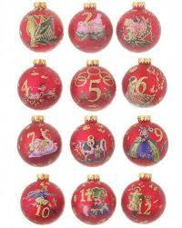 Dillards Christmas Tree Farm by 12 Days Of Christmas Ornaments Ebay