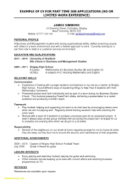 100 Basic Resume Example Unique S For Jobs Best Template