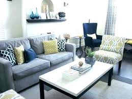 Gray And White Living Room Ideas Grey Yellow Navy