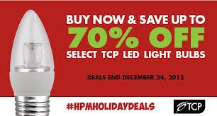 light up your season with tcp led light bulbs