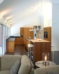 kitchen lighting vaulted ceilings ideas sloped ceiling design